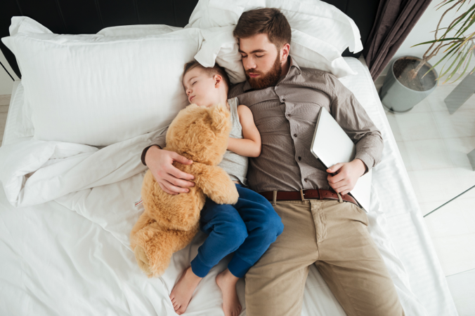 Sleep Improves For Fathers As Kids Grow Older
