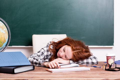 Are Teachers Getting Enough Sleep?