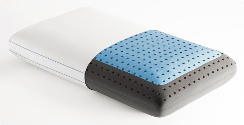 Eight Sleep Carbon Air Pillow side view
