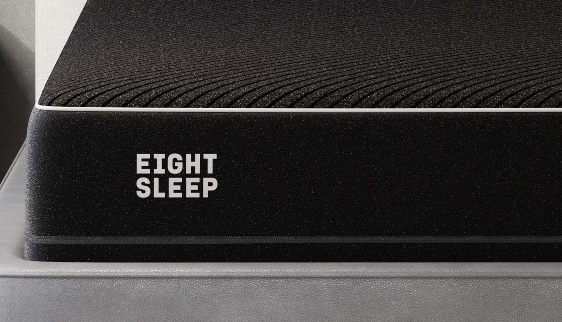 Eight Sleep Pod Pro cover close up material shot